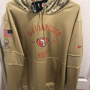 2019 San Francisco 49ers Salute to Service Hoodie